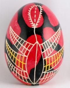 Huevos pysanky ucranianos motivos Dryapanka