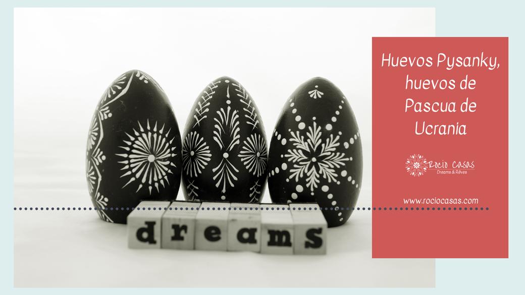 Huevos Pysanky, huevos de Pascua de Ucrania