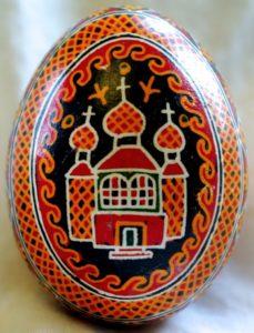 Huevos pysanky ucranianos motivos cristianos