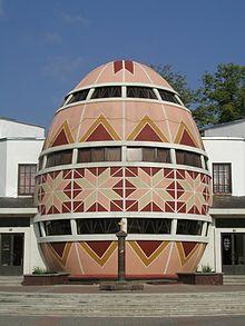 Huevos Pysanky museo