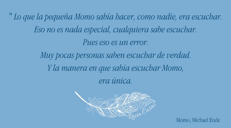 Cita de Momo Rocio Casas