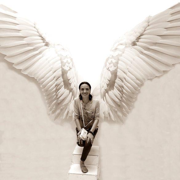 hoy vi un ángel