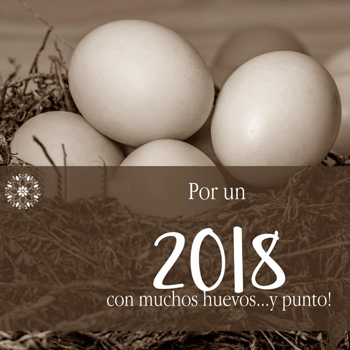 2018 con muchos huevos