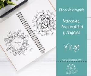 Mandalas, Personalidad y Ángeles VIRGO